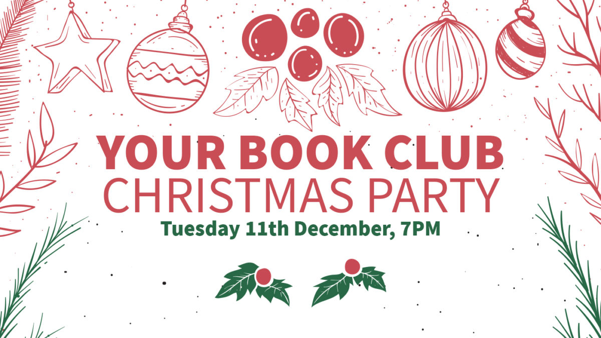 Book Club Christmas Party 2018!